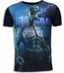 captain sailor man - digital rhinestone t-shirt