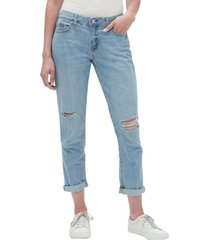 jeans sexy boyfriend light wash mujer celeste gap