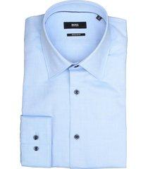 hugo boss overhemd ganos lichtblauw rf 50422946/450