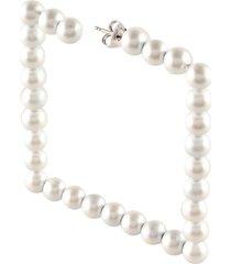 mm6 maison margiela single earrings