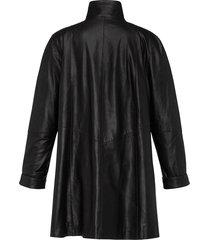leren jas van geitennappaleer van anna aura zwart