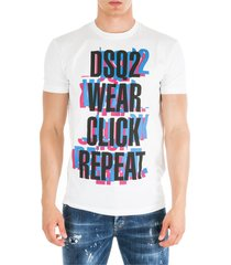 dsquared2 click repeat t-shirt