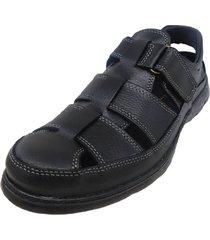 sandalia negra free confort