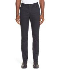 men's john varvatos slim fit five pocket pants, size 29r - black