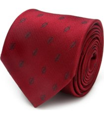 dc comics the flash jacquard men's tie