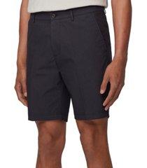 boss men's dark blue slice shorts