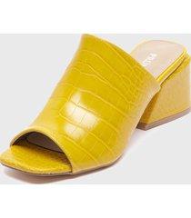 sandalia amarillo prune
