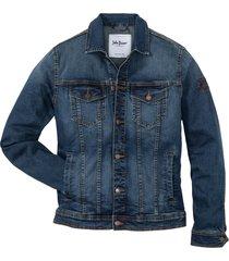 giacca di jeans elasticizzata con applicazione (blu) - john baner jeanswear