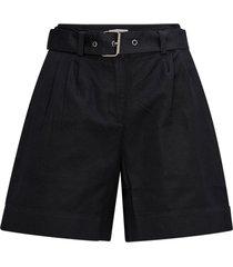 shorts i linneblandning