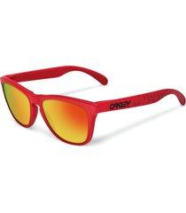 gafas rojo oakley oo9013-901348-55 - superbrands