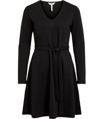 klänning objsava l/s v-neck dress