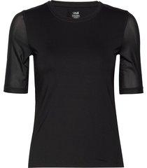energy tee t-shirts & tops short-sleeved svart casall