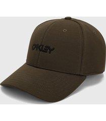 gorra verde pardo oakley
