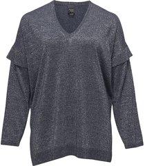 acuti blouse lange mouwen blauw persona by marina rinaldi