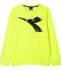diadora neon yellow t-shirt