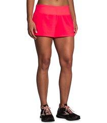 women's brooks chaser 3 shorts