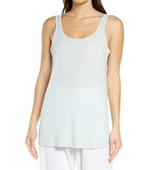 honeydew intimates travel light lounge tank, size x-small in chilled at nordstrom
