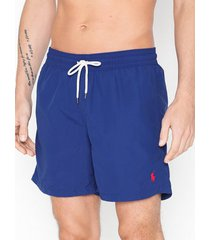 polo ralph lauren traveler swim shorts badkläder royal blue