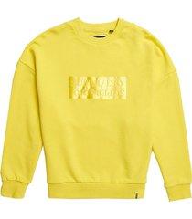 sweater slauchi geel