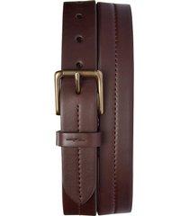 men's shinola leather belt, size 36 - deep brown