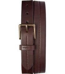 men's shinola leather belt, size 40 - deep brown