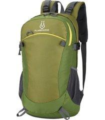 mochila/ ultraligero viaje impermeable al aire libre-verde