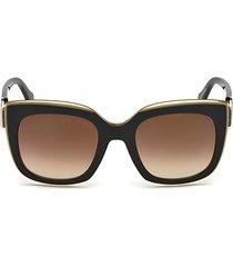 51 mm monogram crest square sunglasses