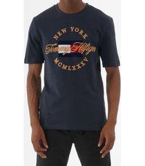 tommy hilfiger icon relax fit t-shirt - sky captain mw0mw09836