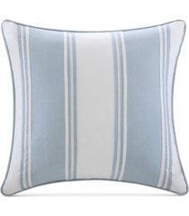 """harbor house crystal beach 18"""" square pieced decorative pillow"""