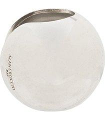 alan crocetti circular ear cuff - silver