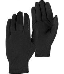 guante stretch negro mammut