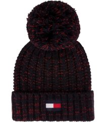tommy hilfiger chunky knit beanie