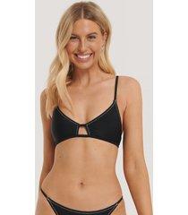 na-kd swimwear bikiniöverdel - black