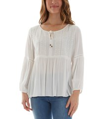 bcx juniors' babydoll top