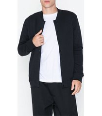 selected homme slhsimon sweat bomber w tröjor svart