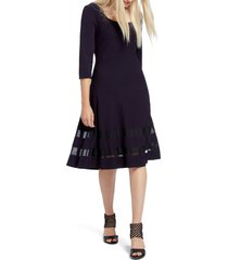 women's nic+zoe charming twirl taffeta inset dress