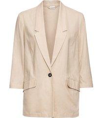 blazer in misto lino (beige) - bodyflirt