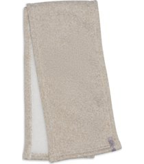 calvin klein fleece-lined knit scarf