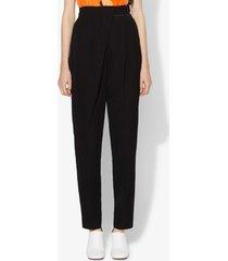 proenza schouler lightweight wool draped pants black 8
