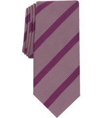 alfani men's hawks stripe necktie, created for macy's