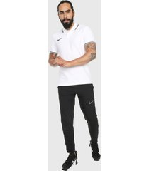 polo blanco-negro nike m polo tm club19 ss