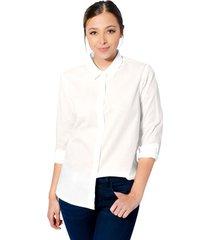camisa sophia para mujer - blanco