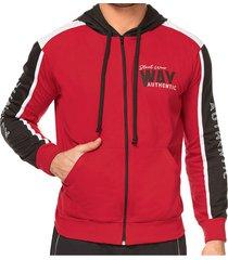 chaqueta authentic rojo para hombre croydon