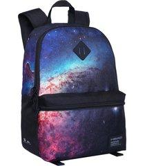 mochila q5 galaxia negro head