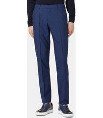 boss men's genesis4 slim-fit virgin wool trousers
