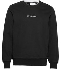 carbon brush logo sweatshirt sweat-shirt trui zwart calvin klein
