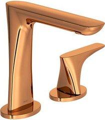 torneira para lavatório mesa bica alta lk red gold 1191.gl17.rd - deca - deca