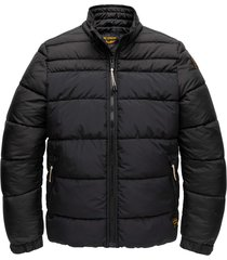 zip jacket skyconsel jet black