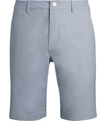 bonobos men's highland slim golf shorts - grey - size 40