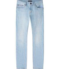 tommy hilfiger 5 pocket broek slim fit blauw